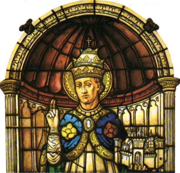 Vidriera del siglo XVI