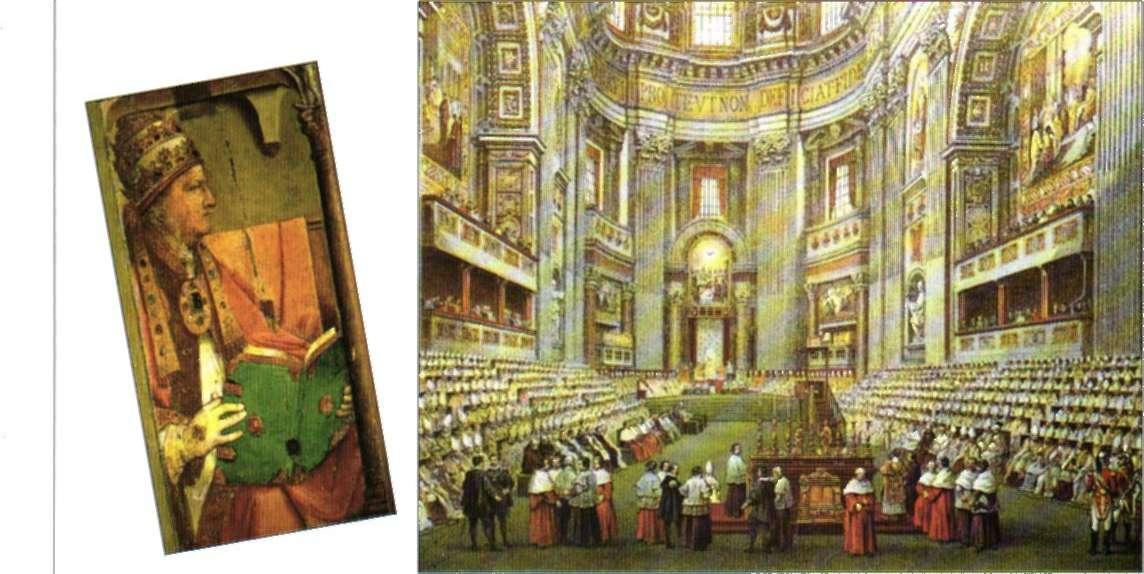 Pío II y obispos