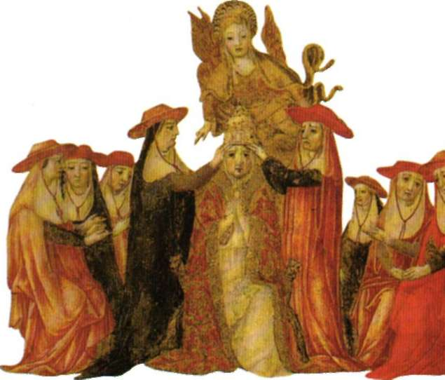 Coronación de Pío II