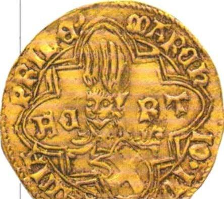 Anverso de ducado de oro