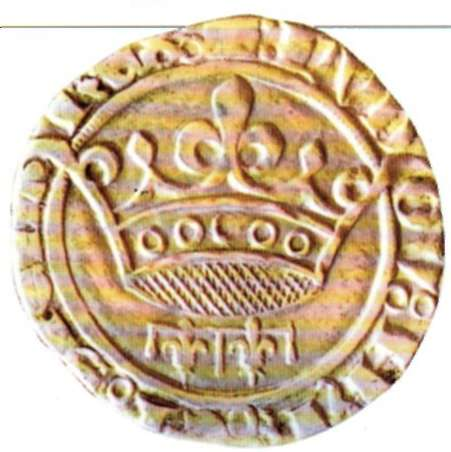 Sueldo de Luis de Anjou