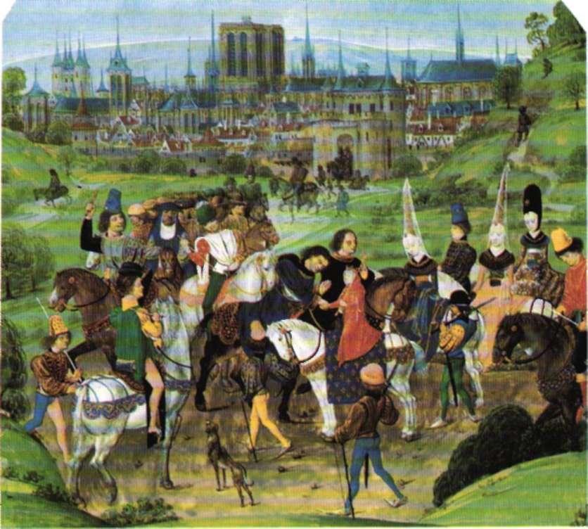 Miniatura francesa del siglo XV