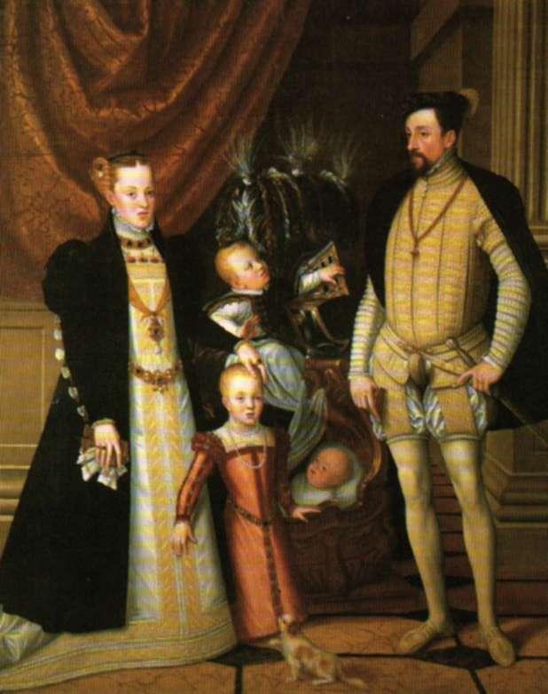 Retrato de Maximiliano II