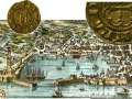 Grabado de Génova del siglo XVIII